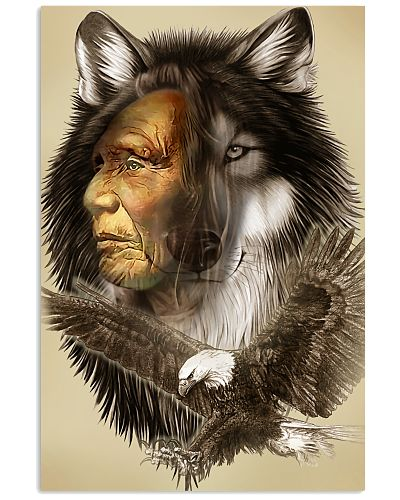 Limited Edition - Native American Wolf