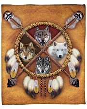 Limited Edition - 4 Wolf Fleece Blanket tile