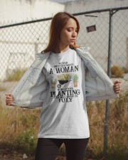 Never Underestimate A Women Who Loves Planting Classic T-Shirt apparel-classic-tshirt-lifestyle-07