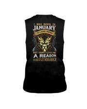 I Was Born In January  Sleeveless Tee thumbnail