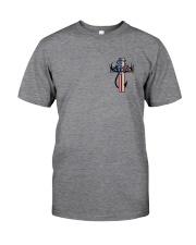 Hunting Faith Flag - back front Classic T-Shirt thumbnail