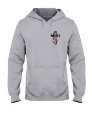 Hunting Faith Flag - back front Hooded Sweatshirt thumbnail