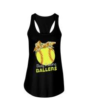 Softball- Busy Raising Ballers Ladies Flowy Tank thumbnail