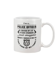 Police - Save Strangers FRONT SIDE only Mug thumbnail