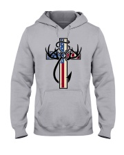 Hunting Faith Flag - front only Hooded Sweatshirt thumbnail