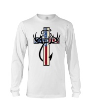 Hunting Faith Flag - front only Long Sleeve Tee thumbnail