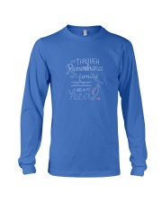 It is through Remembrance Long Sleeve Tee front