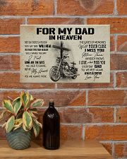 For my Dad in heaven 17x11 Poster poster-landscape-17x11-lifestyle-23