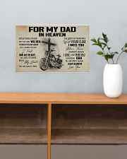 For my Dad in heaven 17x11 Poster poster-landscape-17x11-lifestyle-24