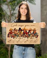 God say you are cowgirls 17x11 Poster poster-landscape-17x11-lifestyle-19