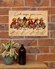 God say you are cowgirls 17x11 Poster poster-landscape-17x11-lifestyle-23
