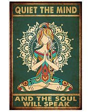 Yoga - Quiet the mind 11x17 Poster front