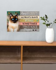 Angels don't  Always have Wings Cats 17x11 Poster poster-landscape-17x11-lifestyle-24