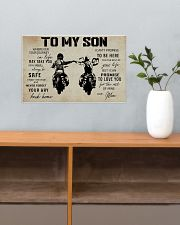 Poster To Son Biker Mom 17x11 Poster poster-landscape-17x11-lifestyle-24