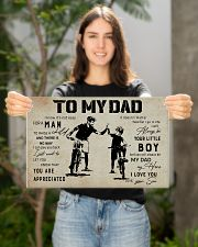 Poster To My Dad Bicycle 17x11 Poster poster-landscape-17x11-lifestyle-19