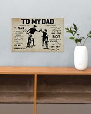Poster To My Dad Bicycle 17x11 Poster poster-landscape-17x11-lifestyle-24