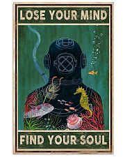 Diver Lose Your Mind 11x17 Poster front