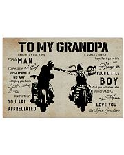 Poster To My Grandpa 17x11 Poster front
