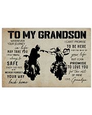Poster To grandpaSon Biker 17x11 Poster front
