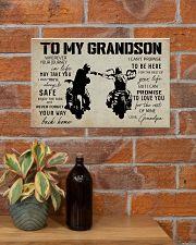 Poster To grandpaSon Biker 17x11 Poster poster-landscape-17x11-lifestyle-23
