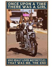 There Was a Girl Who Really Loved Motorcycles 11x17 Poster front