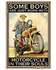 Boys Born With Motor In Souls 11x17 Poster front