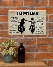 Poster To My Dad Daughter 17x11 Poster poster-landscape-17x11-lifestyle-23