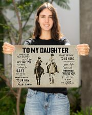 To My Daughter Horse Mom 17x11 Poster poster-landscape-17x11-lifestyle-19