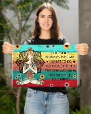 The soul always knows what to do 17x11 Poster poster-landscape-17x11-lifestyle-19