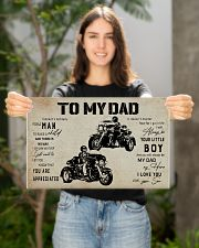 Poster To My Dad Three Wheels 17x11 Poster poster-landscape-17x11-lifestyle-19