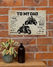 Poster To My Dad Three Wheels 17x11 Poster poster-landscape-17x11-lifestyle-23