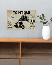 Poster To My Dad Three Wheels 17x11 Poster poster-landscape-17x11-lifestyle-24