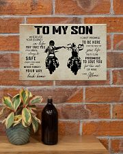 Poster To Son Biker Mama 17x11 Poster poster-landscape-17x11-lifestyle-23