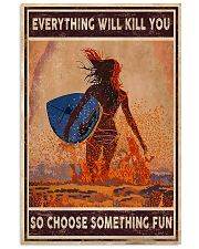 Everything will kill you-Surfing 11x17 Poster front