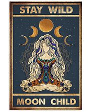 Yoga Stay Wild Moon Child 11x17 Poster front