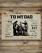 Mechanic Son To My Dad 17x11 Poster poster-landscape-17x11-lifestyle-14