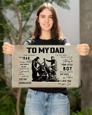 Mechanic Son To My Dad 17x11 Poster poster-landscape-17x11-lifestyle-19