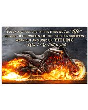 What a ride 17x11 Poster front
