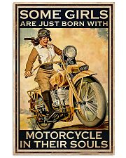 Girls Born With Motor In Souls 11x17 Poster front