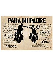 Para Mi Padre Hijo 17x11 Poster front