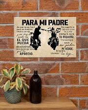 Para Mi Padre Hijo 17x11 Poster poster-landscape-17x11-lifestyle-23