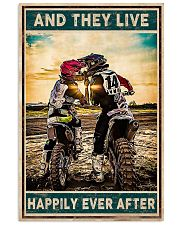 Motocross And They Live happily Ever After 11x17 Poster front