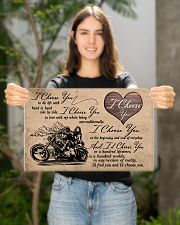 I Choose You biker 17x11 Poster poster-landscape-17x11-lifestyle-19
