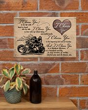 I Choose You biker 17x11 Poster poster-landscape-17x11-lifestyle-23