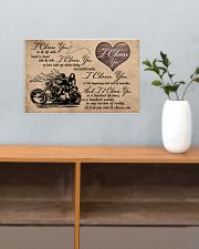 I Choose You biker 17x11 Poster poster-landscape-17x11-lifestyle-24