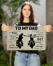 Poster To My Dad 17x11 Poster poster-landscape-17x11-lifestyle-19