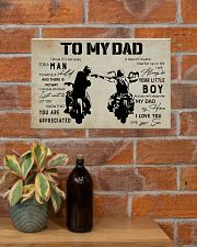 Poster To My Dad 17x11 Poster poster-landscape-17x11-lifestyle-23