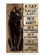 A Cat is a Best Friend Sticker - Single (Vertical) thumbnail
