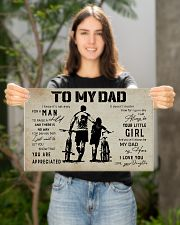 Poster To My Dad Daughter Bicycle 17x11 Poster poster-landscape-17x11-lifestyle-19