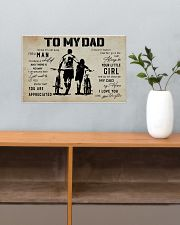 Poster To My Dad Daughter Bicycle 17x11 Poster poster-landscape-17x11-lifestyle-24